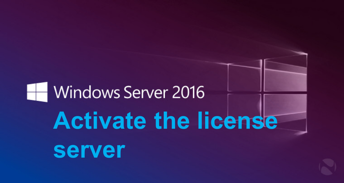 Activate the Remote Desktop Services license server