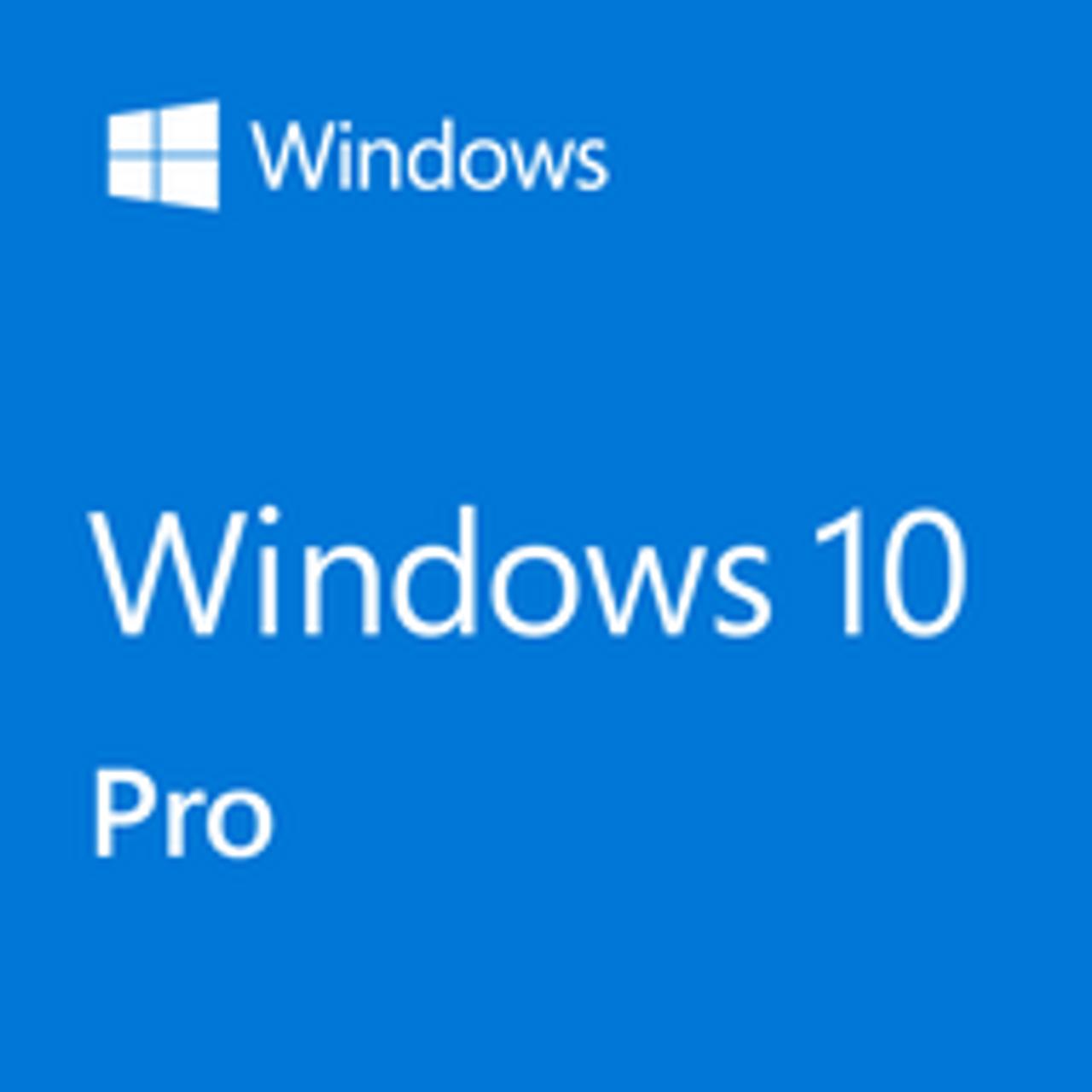 Microsoft Windows 10 Professional 32 64 Bit