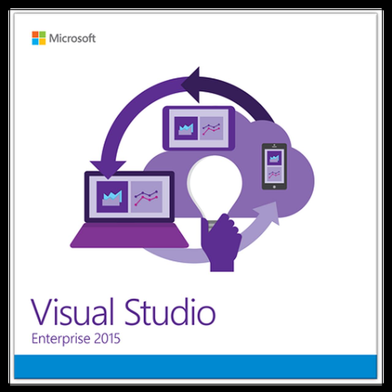 Microsoft Visual Studio Enterprise 2015 License, Download