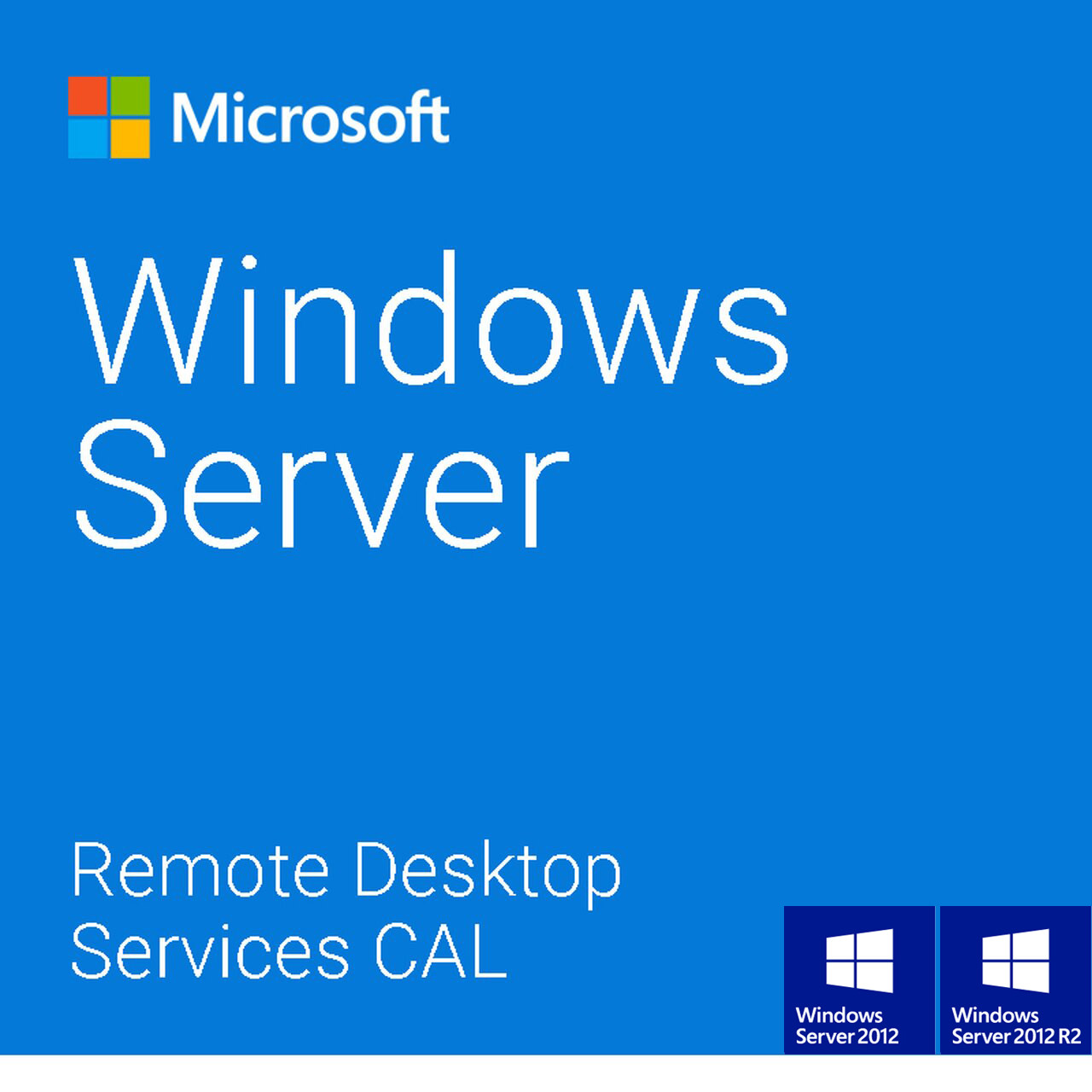 Windows Server 20122012 R2 Remote Desktop Services RDS 5 USER CAL License