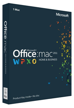 Microsoft Office For Mac, Home And Business 2011