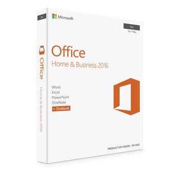 Microsoft Office For Mac, Home And Business 2016, Full Retail Version, Instant Download