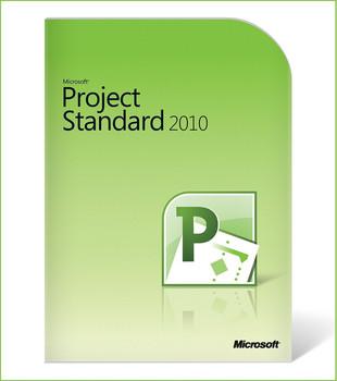 Microsoft Project Standard 2010, 32/64 Bit