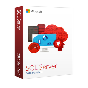 Microsoft SQL Server 2016 Standard - 2 Core License - 1 Server