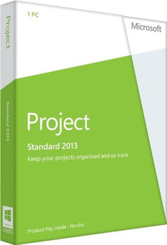 Microsoft Project Standard 2013, 32/64 Bit, Full Retail Version, Instant Download