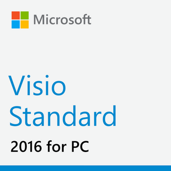 Microsoft Visio Standard 2016, 32/64 Bit, Full Retail Version, Instant Download
