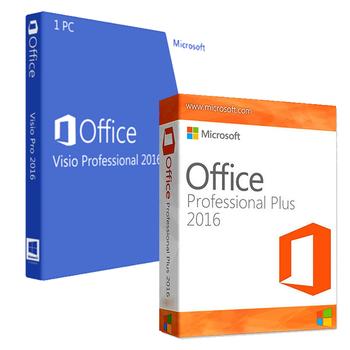 Office Professional 2016 + Visio Professional 2016 Bundle