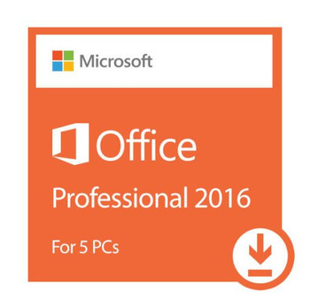 Microsoft Office Professional 2016 Plus 5 PCs/ Devices, 32/64 Bit, Full Retail Version, Instant Download