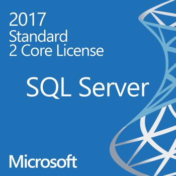 Microsoft SQL Server 2017 Standard - 2 Core - Instant License