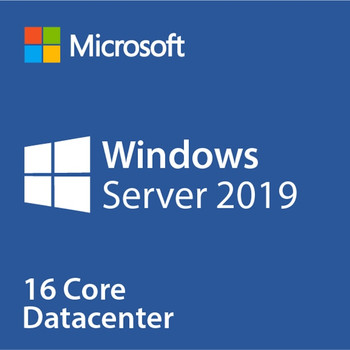 Microsoft Windows Server 2019 Datacenter 16 Core - Instant License, 1 Server