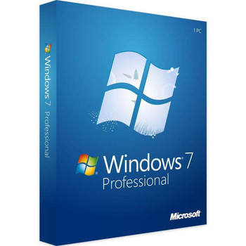 Windows 7 Professional Full Version, Instant Download, 32/64 Bit