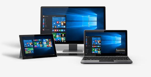 Windows 10 Home, 32/64 Bit, Full Retail Version