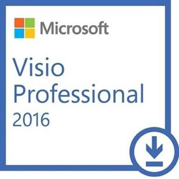 Microsoft Visio Professional 2016, 32/64 Bit, Full Retail Version, Instant Download