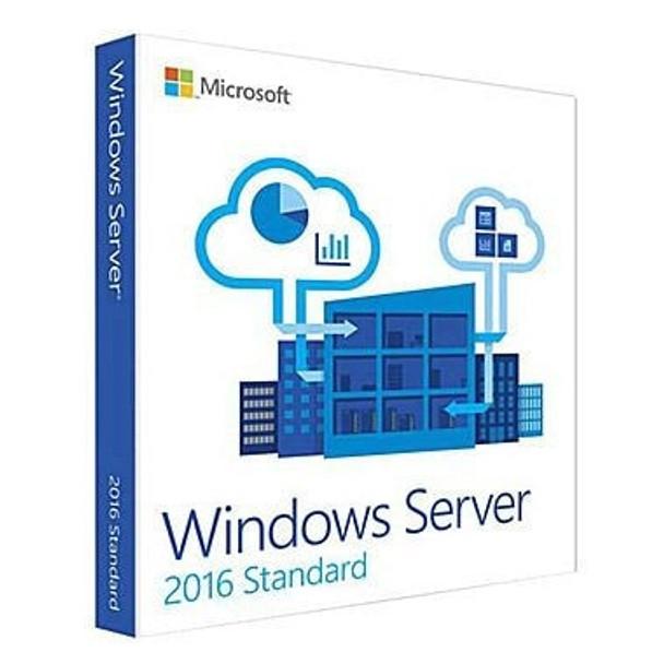 Microsoft Windows Server 2016 Standard, 16 Core