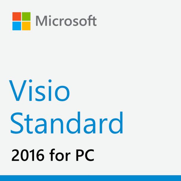 Microsoft Visio Standard 2016, 32/64 Bit, Full Retail Version, Instant Download