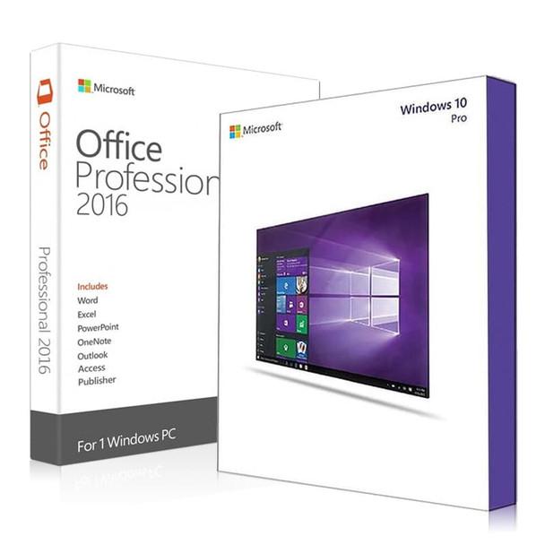 Windows 10 Pro + Office 2016 Professional Bundle