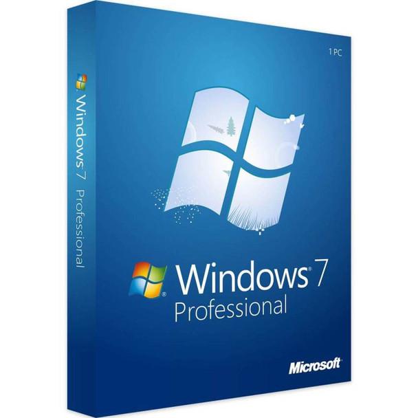 Windows 7 Professional Full Version, Instant Download, 32/64 Bit