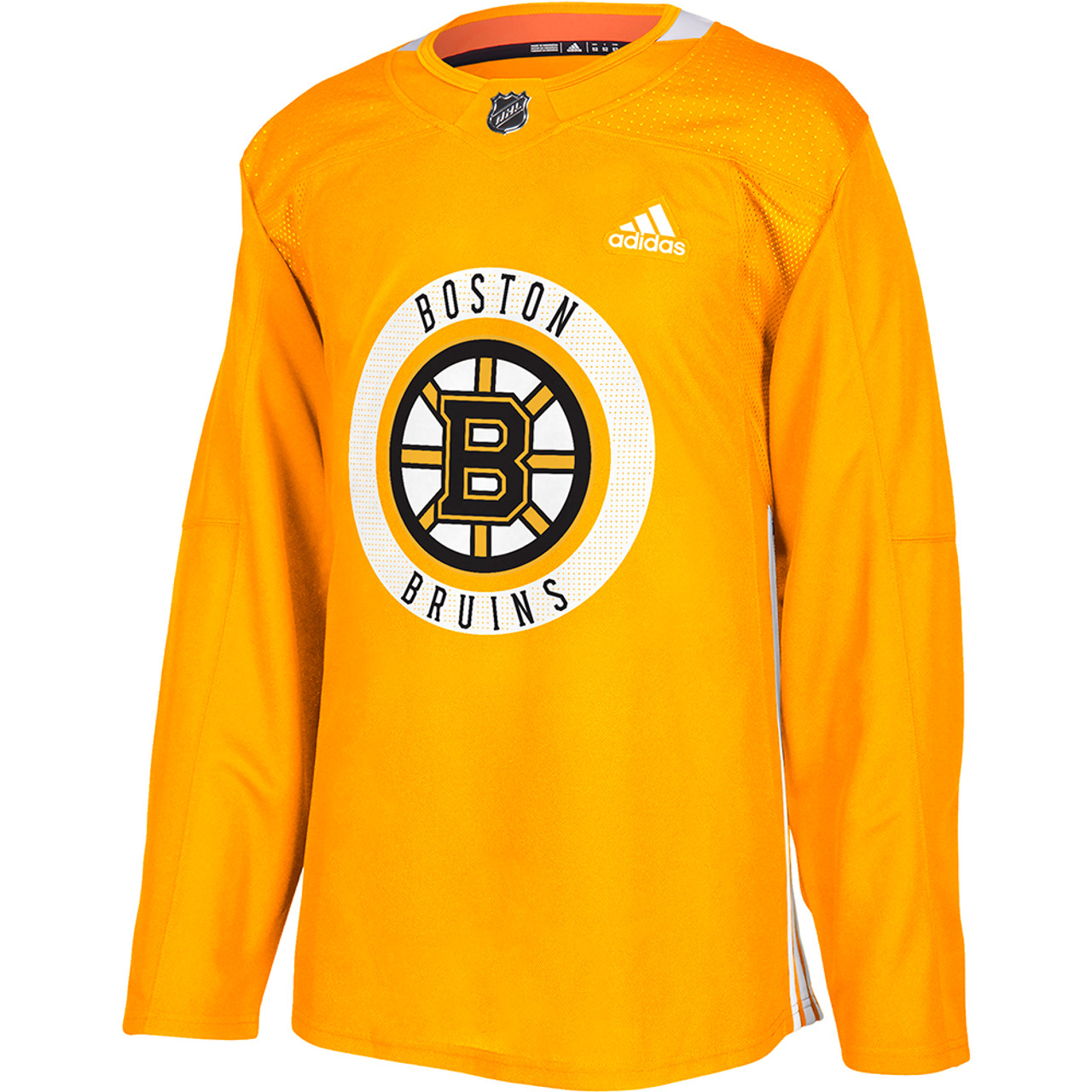 Bruins Gold Authentic Practice Jersey