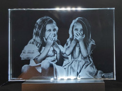 2D photo frames with little girls