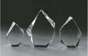 Three sizes of this premium Iceberg crystal.