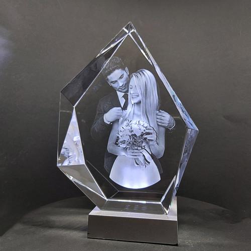 Premium Iceberg Crystal for Awards and Special Occasions