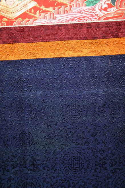 Tibetan Mahakala Thangka Hanging Scroll