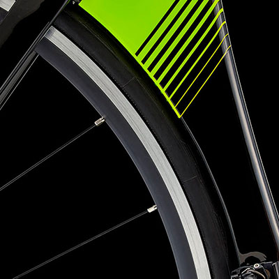 Extended Seat tube Cutout on the P2