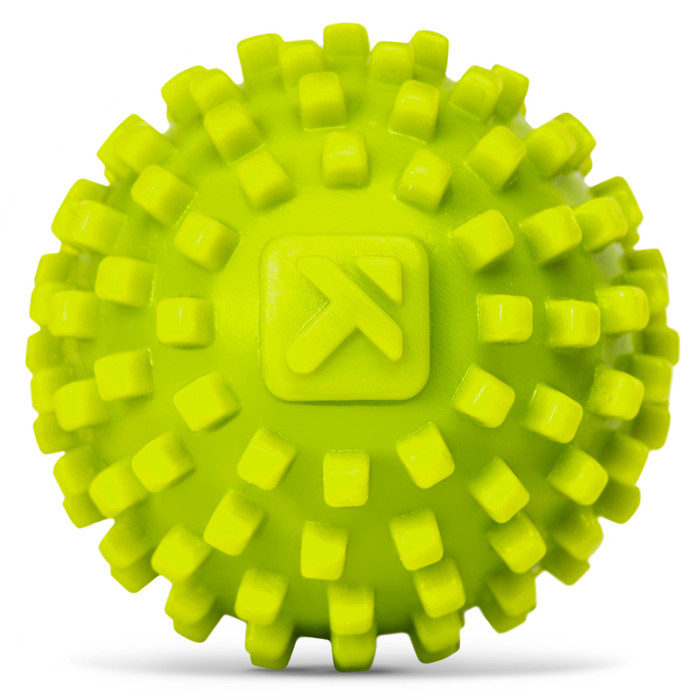 Mobipoint Massage Ball sitting on a white background.
