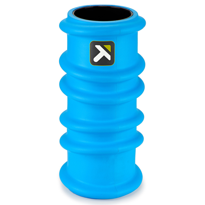CHARGE Foam Roller standing vertically on a white background.