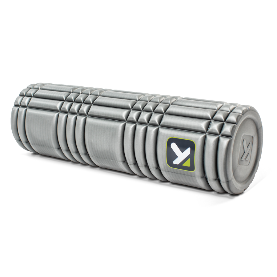 "CORE Foam Roller 18"" sitting horizontally on a white background."