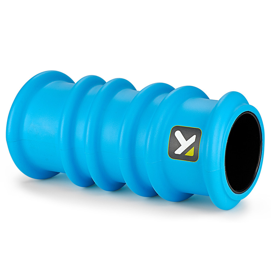 CHARGE Foam Roller sitting horizontally on a white background.