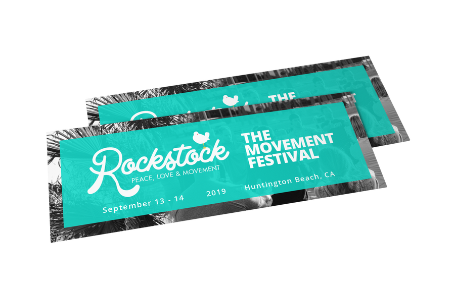 Rockstock 2019 - Movement Festival - Two Day Pass