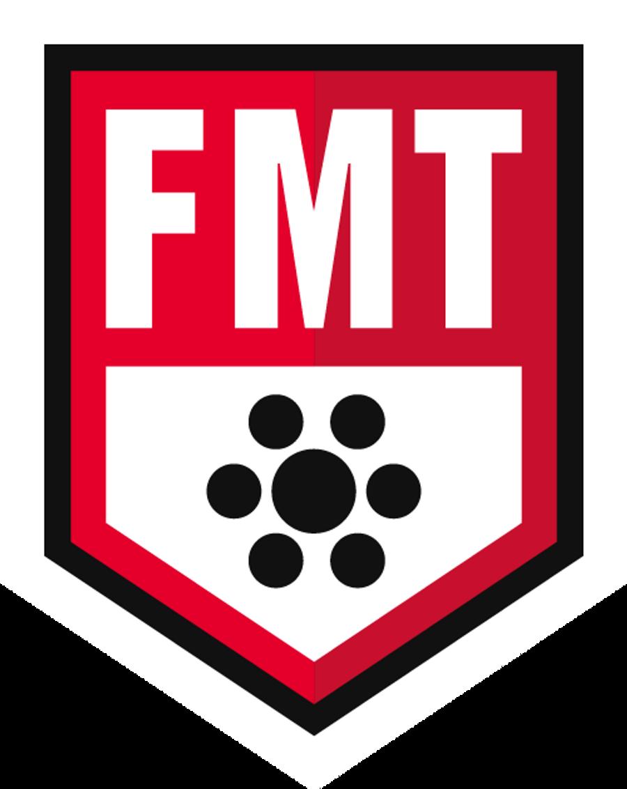 FMT - June 1,2  2019 - Sarasota, FL- FMT RockPods/FMT RockFloss