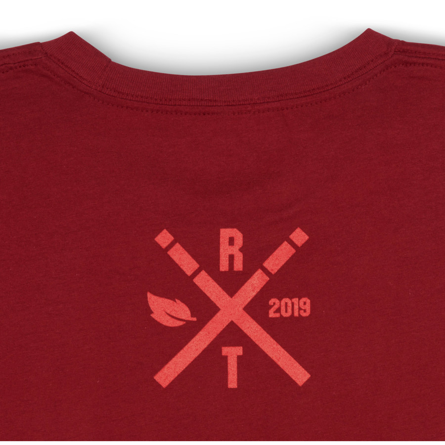 Limited Edition Fall 2019 Collection Tee Burnt Red