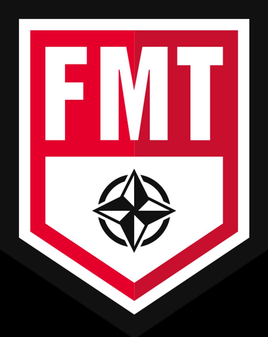 FMT Movement Specialist June 5th-6th, 2021 Reno, NV
