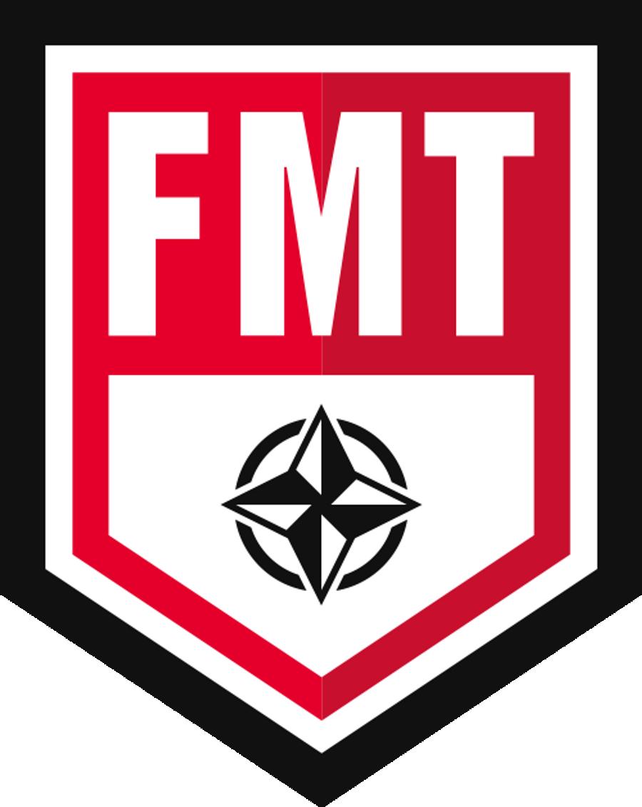 FMT Movement Specialist October 16th-17th, 2021 Arlington, TX