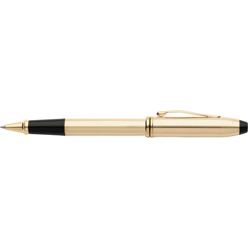 Townsend 10CT Gold Filled/Rolled Gold Selectip Rollerball Pen