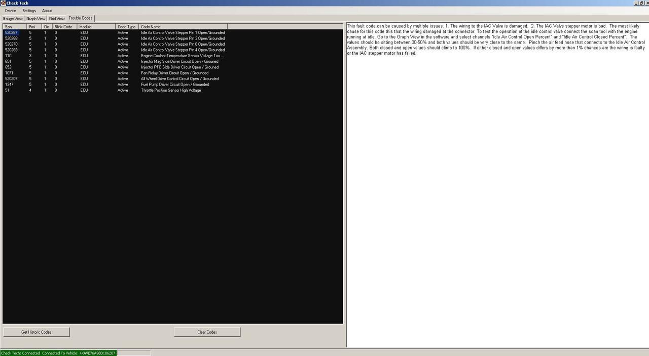 polaris diagnostic tool check tech software main engine codes