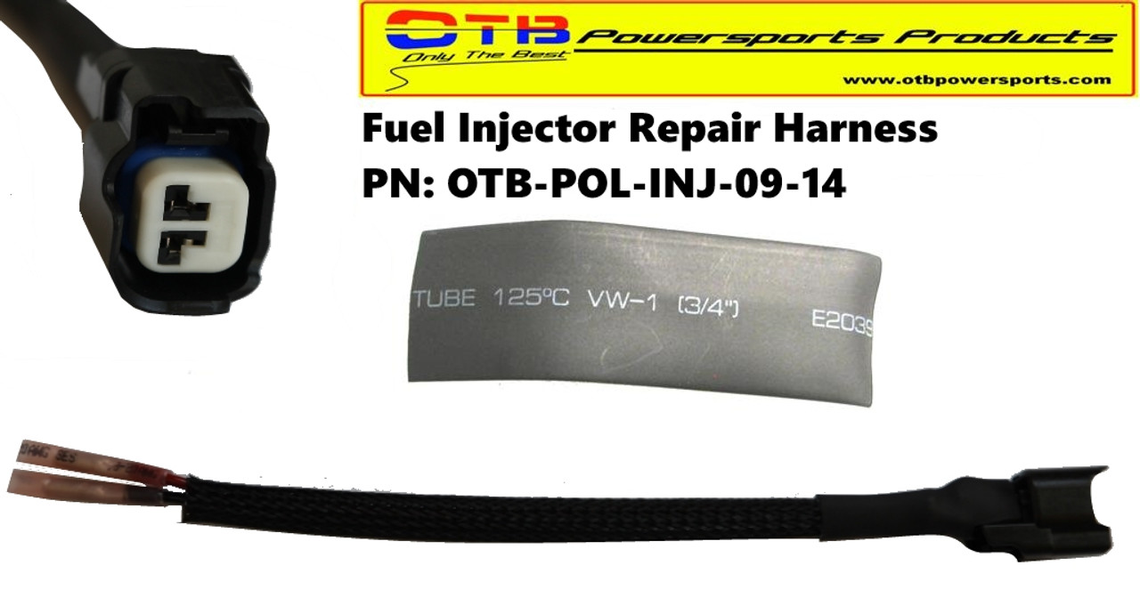 injectorconnector fuel injector wiring repair harness otb powersports products