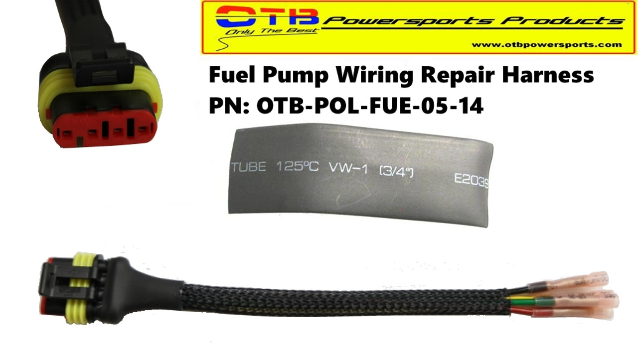 fuelpumpconnector fuel pump wiring repair harness otb powersports products fuel pump wire harness repair kit at gsmx.co