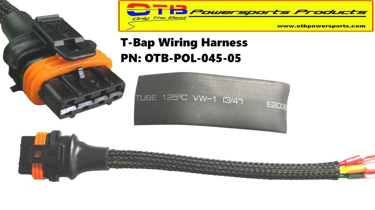 t bap wiring repair harness otb powersports products 12 Volt Relay Wiring Diagrams polaris wiring harness