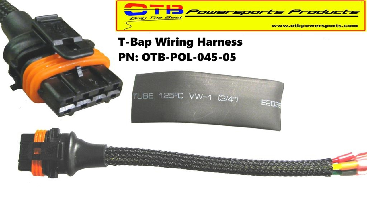 connector t bap wiring repair harness otb powersports products 2005 polaris ranger wiring diagram at crackthecode.co