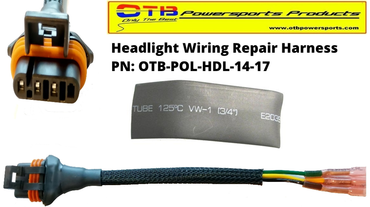 headlight repair wiring harness