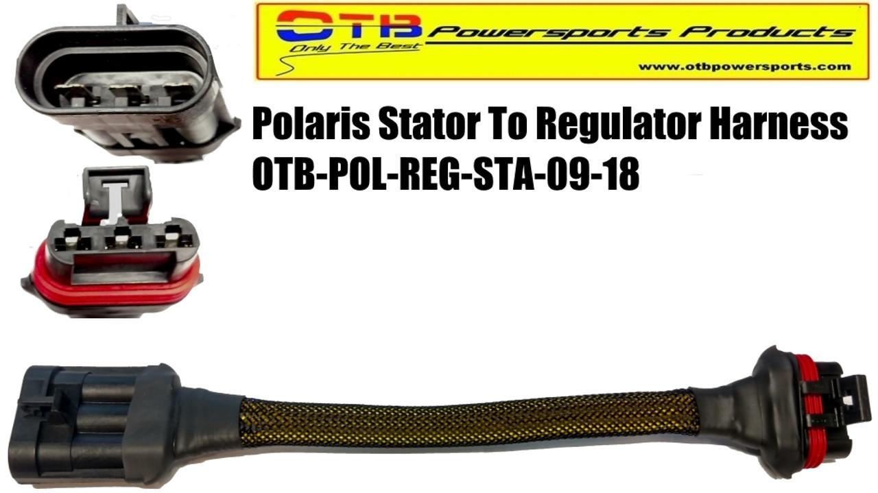 polaris voltage regulator to stator wiring