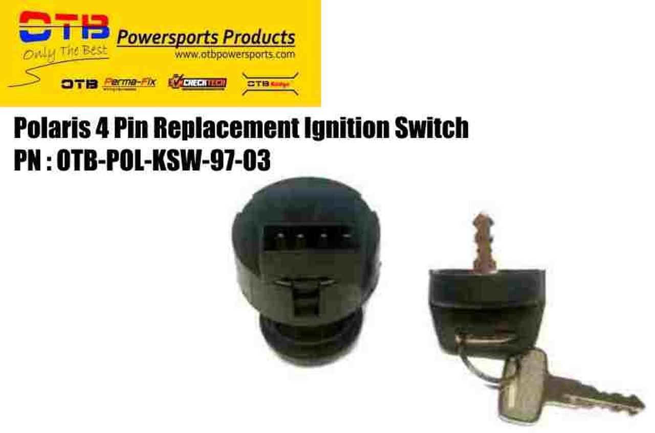 polaris ignition switch 4 pin