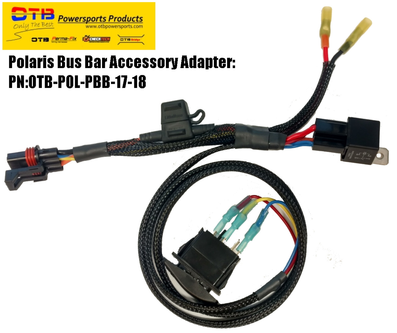polaris light bar wiring kit