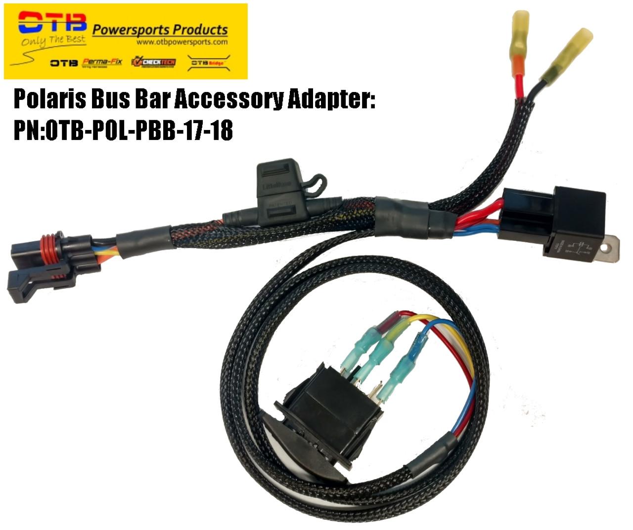 polaris light bar wiring kit
