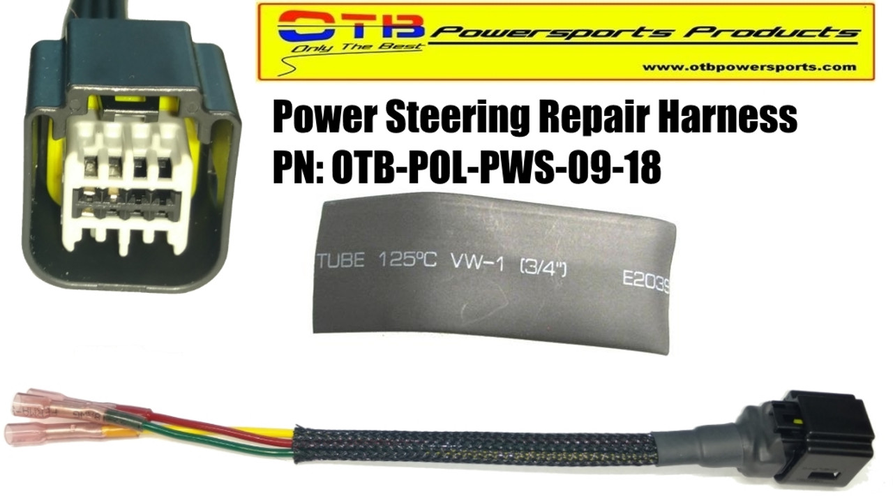 Polaris Power Steering Repair HarnessOTB Powersports