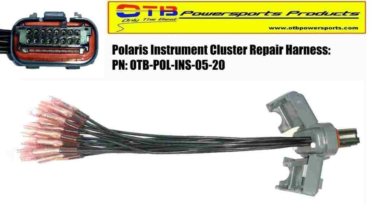 polaris instrument cluster wiring