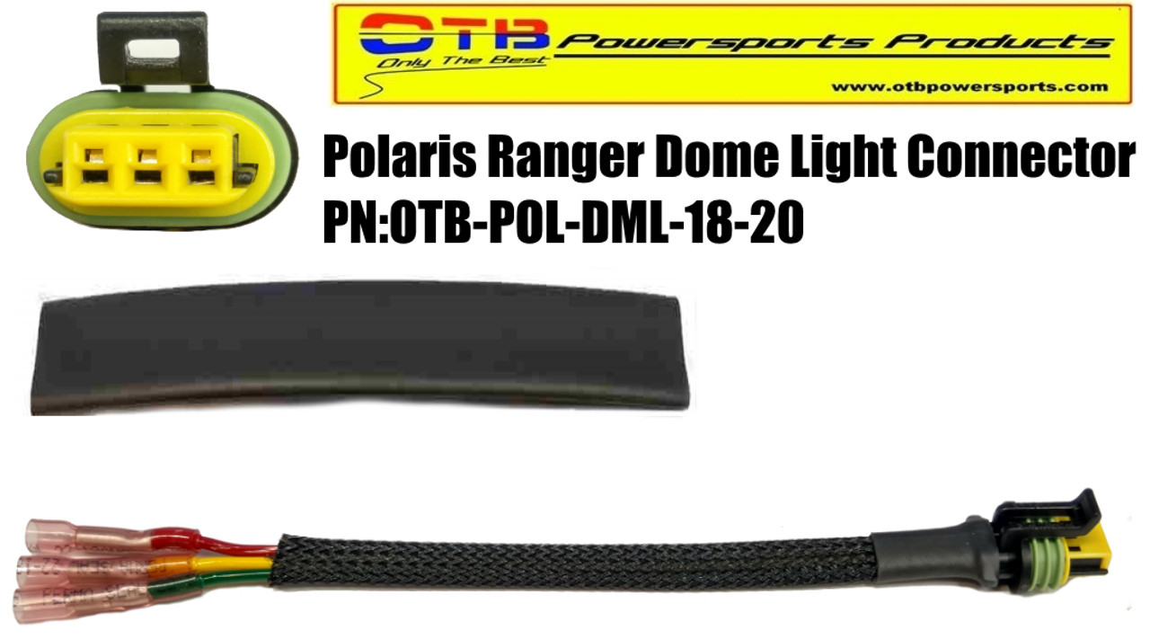 polaris ranger dome light repair or retrofit wiring harness